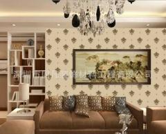 中式印花艺术墙硅藻泥印花承包施工罗湖质量保证 13570897375
