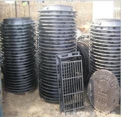 生产销售各种规格重型球墨铸铁雨水篦子400*700单篦子、带框篦子 可根据客户要求定制型号尺寸 1-