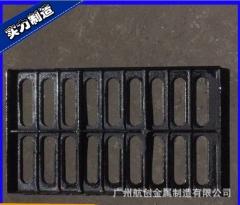 厂家直销 雨水篦子 铸铁井盖 铸铁篦子 JQD400/C250/E500/B12 1-4 吨 球墨铸