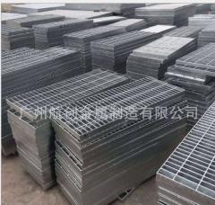厂家直销热镀锌钢格板 通道走人钢格栅踏步 格栅板排水渠沟盖板 20*5-65*5 10-99 平方米