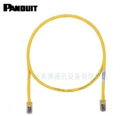 美国PANDUIT泛达跳线 泛达超五类非屏蔽跳线 RJ45网络跳线 2米