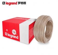 TCL罗格朗超五类网线 非屏蔽无氧铜双绞线305米 浅棕色 632711