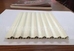 美意板v木塑移门百叶板优质百叶板衣柜推拉门衣柜移门百叶板定制 132*2750*9