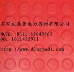 【专业生产】河北厂家大量供应绝缘胶垫 绝缘胶垫厂家 红色 5mm厚