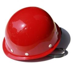 石家庄厂家直销黄色玻璃钢安全帽、电力安全帽、质量好!可订做