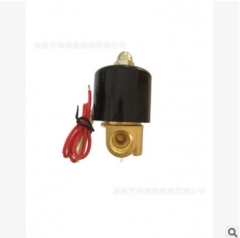 NBSZC 神洲电磁阀 黄铜水阀 2分 2W-08 2W系列电磁阀 1-49 个