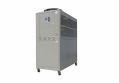 供应山东零下-30度风冷式低温冷水机、降温机 1600X850X1600
