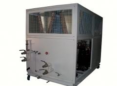 供应河北-30度低温风冷螺杆式冷水机,水降温机,水冷却机 2200X1500X2000