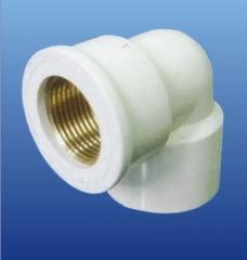 PVC-U环保给水  铜内丝弯头