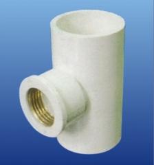 PVC-U环保给水  铜内丝三通 DN15
