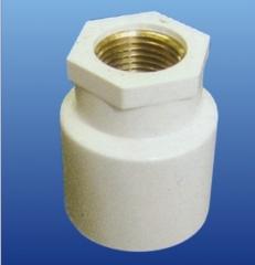 PVC-U铜内丝异径直接头