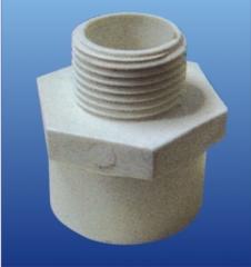 PVC-U环保给水  外丝异径直接头 DN15