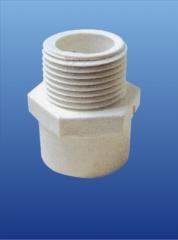 PVC-U环保给水 外丝直接头 DN15