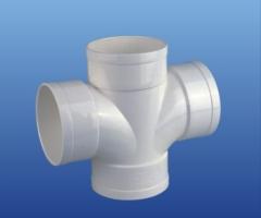 PVC-U排水90°顺水四通