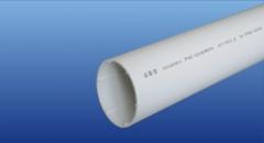 PVC-U实壁消音螺旋排水管