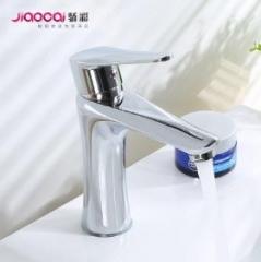 开平合金金属台上水龙头 厕所浴室洗脸台水龙头家装卫浴配件