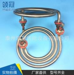 专业生产 蚊香式电加热管 圆盘型电加热管 不锈钢干烧蚊香电热管 1-49 个