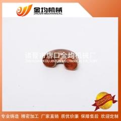 厂家现货医药管道配件 T2紫铜加工 加厚全铜焊接 铜弯头