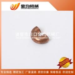供应优质水暖对焊耐磨铜管件u型等径无缝4分内牙紫铜管弯头