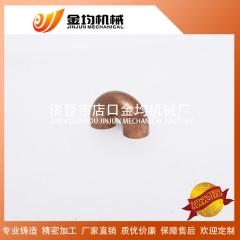 厂家现货各种厚度对焊无缝紫铜tp2金属同径90度承口管件u型弯头