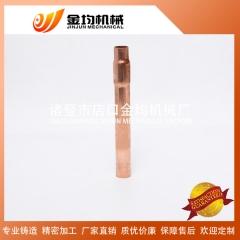 供应各种规格紫铜产品 t2直接异径管 焊接加工 变径直通管件