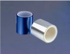 蓝色双层PET保护膜 双层蓝色硅胶PET保护膜 亚克力蓝色双层PET
