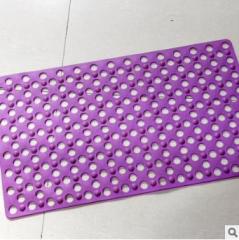 厂家直销防滑垫 大孔按摩浴室pvc防滑垫 卫生间洗澡淋浴地垫 45厘米*80厘米