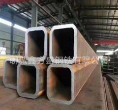 专业 生产无缝方矩管Q345B厚壁方管空心钢管切割定尺山东厂家 100*60*8.0