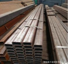厂家直销,Q235B方形管,100*50*4空心方钢管 方形焊接钢管Q235B