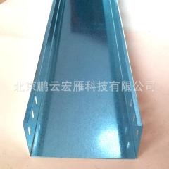 喷塑槽式电缆桥架线槽 镀锌弱电走线槽规格200*100*1.2