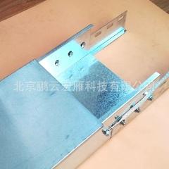 厂家直销桥架线槽100*50*1银灰色高品质PVC线槽 方线槽