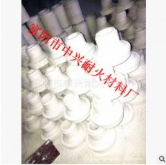 厂家生产供应陶瓷浇口杯、浇口套、流糟、除气杆 按照客户需求订做各种规格形状的堵套产品