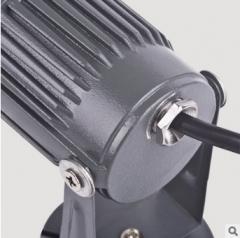 厂家直销 LED泛光灯投光灯户外防水投射灯室外照明聚光灯 3w