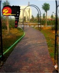 彩色混凝土路面 材料厂家 透水混凝土地坪 彩色混凝土 批发