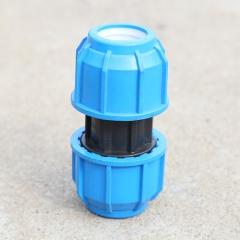 批发供应PE管快接直接 规格型号全连接方便耐用PE管管件