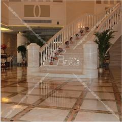 大理石楼梯踏步 台阶 踢脚石材 旋转楼梯整套定做