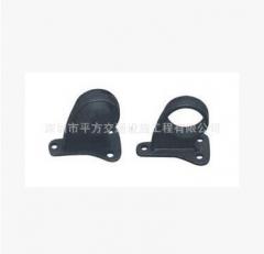 黑色挡车器支架 黑色铸铁底座 挡轮杆底座 挡轮杆铸铁底座 60MM 1 1
