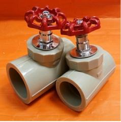 PPR升降式铜截止阀PPR阀门PPR闸阀 PPR截止阀水管管件配件20-110 20MM