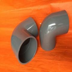 UPVC弯头PVC弯头灰色给水管90度弯头 pvc90度直角接头 250MM 10寸 DN250