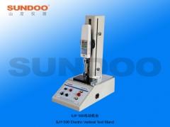 SUNDOO山度SJY-1000/SJY-500电动立式机台 测力机台 推拉力计机台 1-9 台