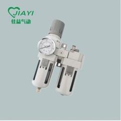 厂销精品白色SMC型气源处理器 气动二联件AC4010-03/04油水分离器 AC4010-03/0