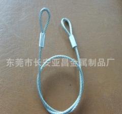 供优质不锈钢钢丝绳吊索 不锈钢吊索具