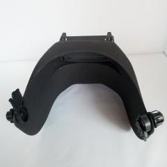 批发插件式高空作业电焊面罩配帽翻盖式焊接防护面屏氩弧焊头戴