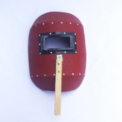 小铝包边电焊面罩手持式焊割防护面具焊工防护帽