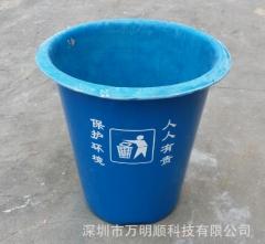 各种款型规格的户外环保果皮桶 沙滩用抗老化玻璃纤维果皮桶