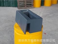 厂家专业生产市政道路隔离墩绿化花盆 水泥隔离墩绿化花槽