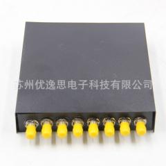 YOUYSI8口ST光纤终端盒单模光缆熔配箱熔纤盒卡口光纤热熔盒 ≥1