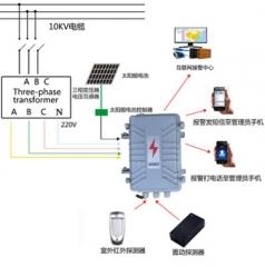 农村灌溉变压器防盗报警器 乡村变压器防盗报警器 GSM变压器防盗 BL——3000