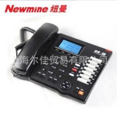 纽曼908 多媒体录音电话机 超长录音3200小时 自动答录留言 1-9
