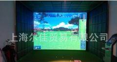 室内高尔夫模拟器 家庭高尔夫设备 全自动回球系统 上门设计安装 ≥12-4